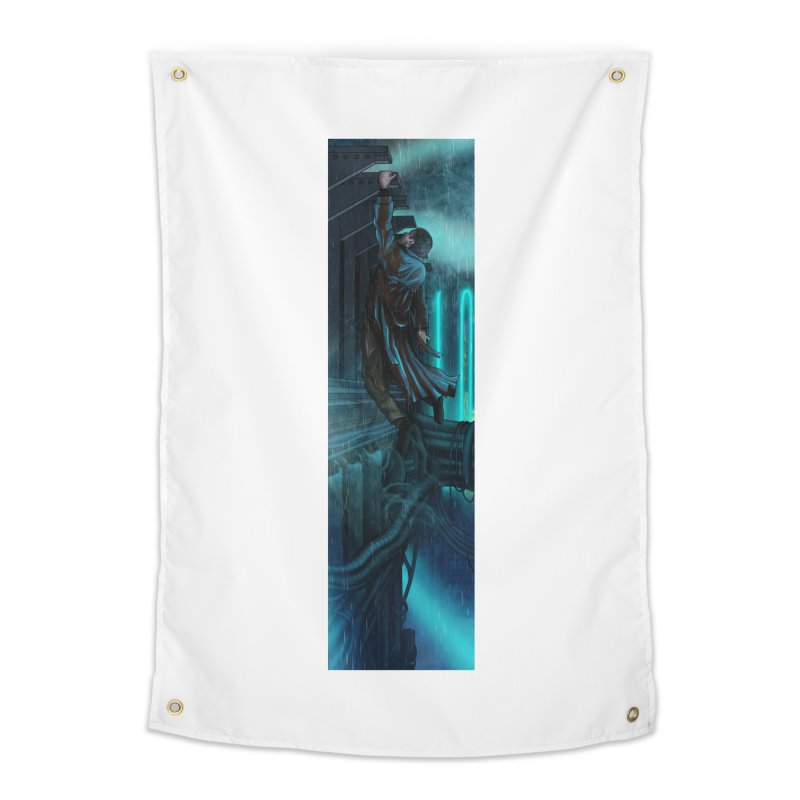 Hang in There-Deckard Home Tapestry by City of Pyramids's Artist Shop