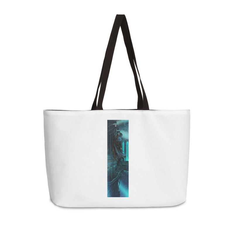 Hang in There-Deckard Accessories Weekender Bag Bag by City of Pyramids's Artist Shop