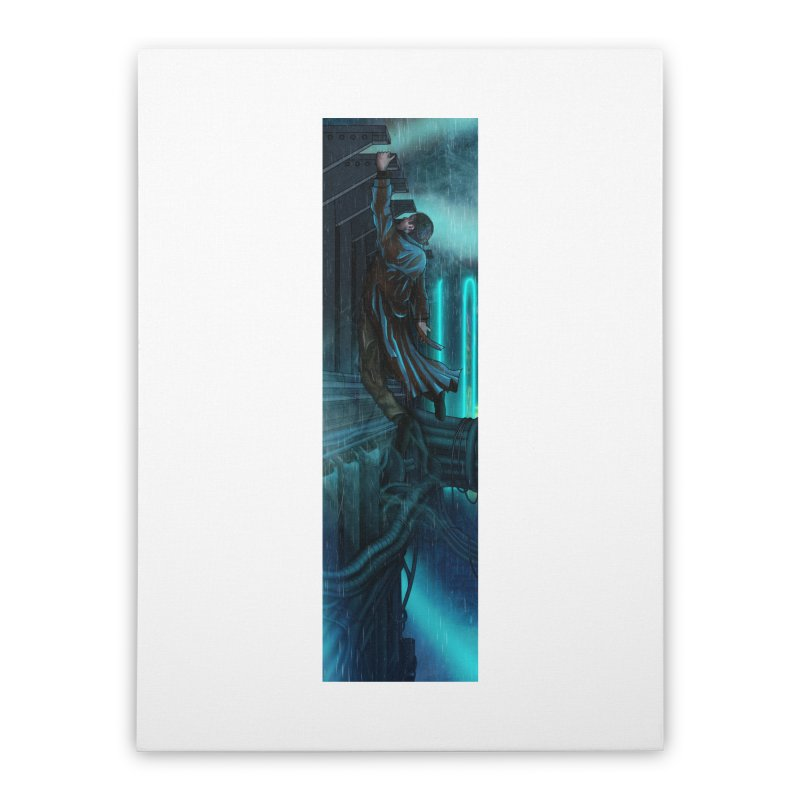 Hang in There-Deckard Home Stretched Canvas by City of Pyramids's Artist Shop