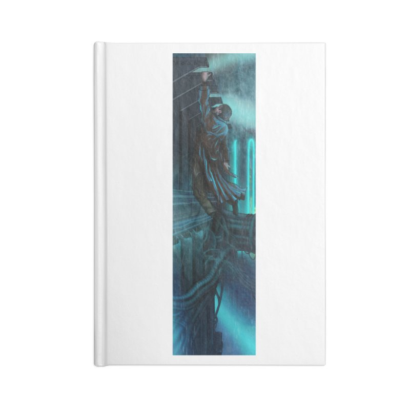 Hang in There-Deckard Accessories Blank Journal Notebook by City of Pyramids's Artist Shop