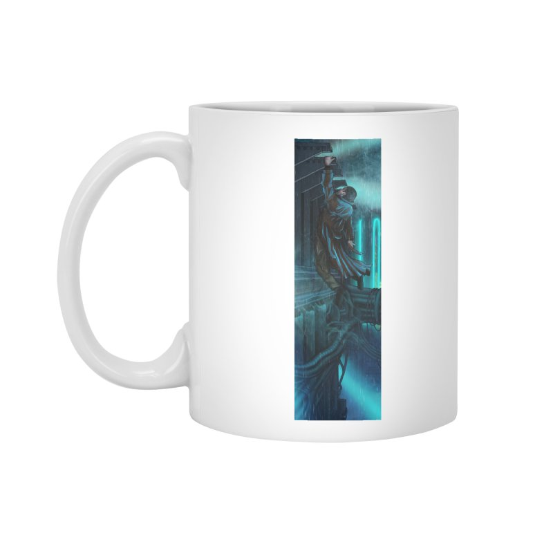 Hang in There-Deckard Accessories Standard Mug by City of Pyramids's Artist Shop