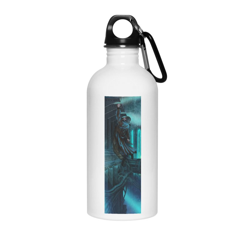 Hang in There-Deckard Accessories Water Bottle by City of Pyramids's Artist Shop