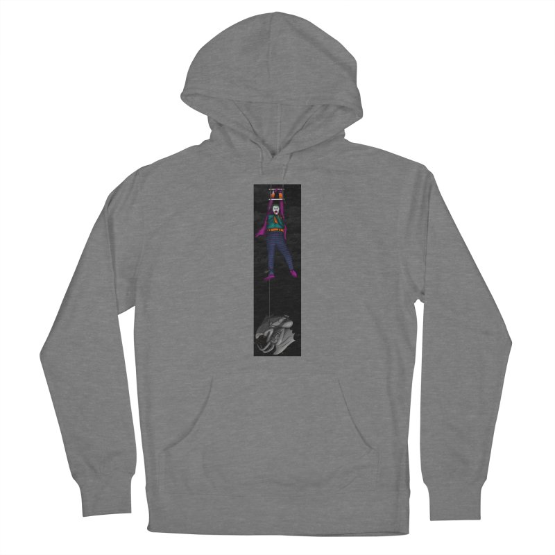 Hang in There-Joker Women's Pullover Hoody by City of Pyramids's Artist Shop