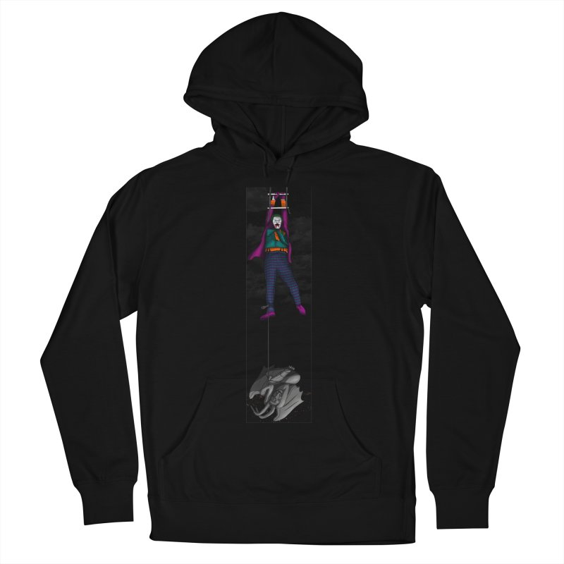 Hang in There-Joker Men's French Terry Pullover Hoody by City of Pyramids's Artist Shop