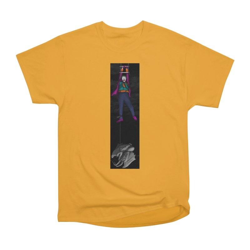 Hang in There-Joker Women's Heavyweight Unisex T-Shirt by City of Pyramids's Artist Shop