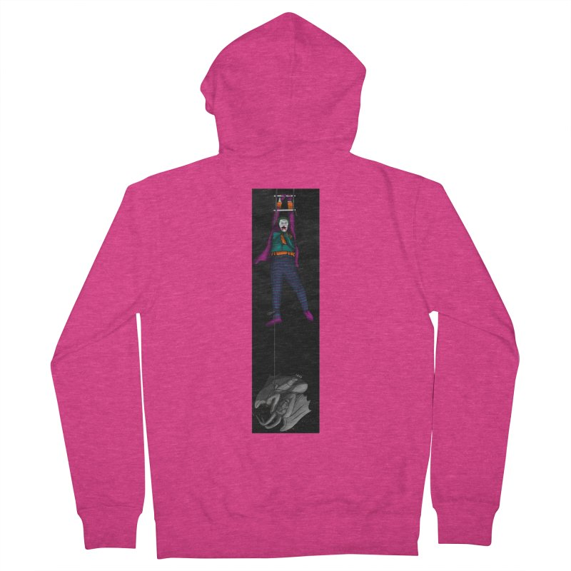 Hang in There-Joker Women's French Terry Zip-Up Hoody by City of Pyramids's Artist Shop