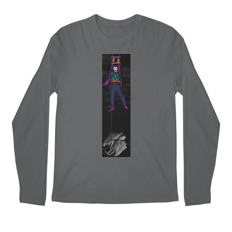 Hang in There-Joker Men's Regular Longsleeve T-Shirt by City of Pyramids's Artist Shop