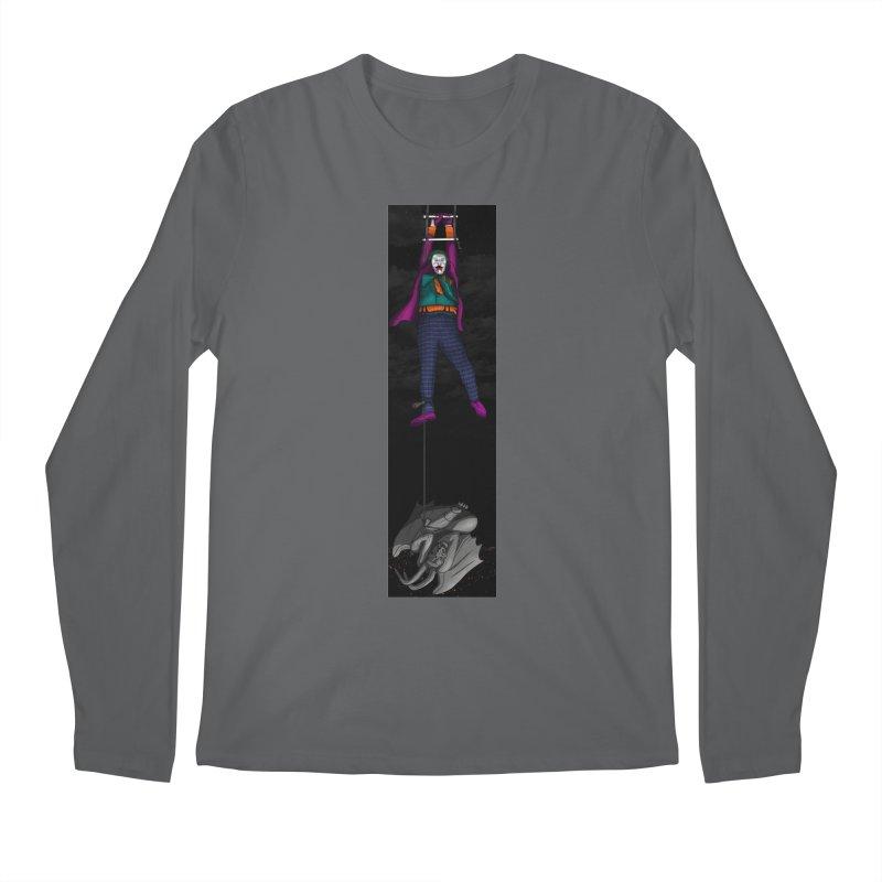 Hang in There-Joker Men's Longsleeve T-Shirt by City of Pyramids's Artist Shop