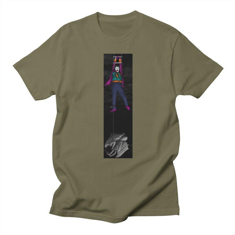 Hang in There-Joker Women's Regular Unisex T-Shirt by City of Pyramids's Artist Shop