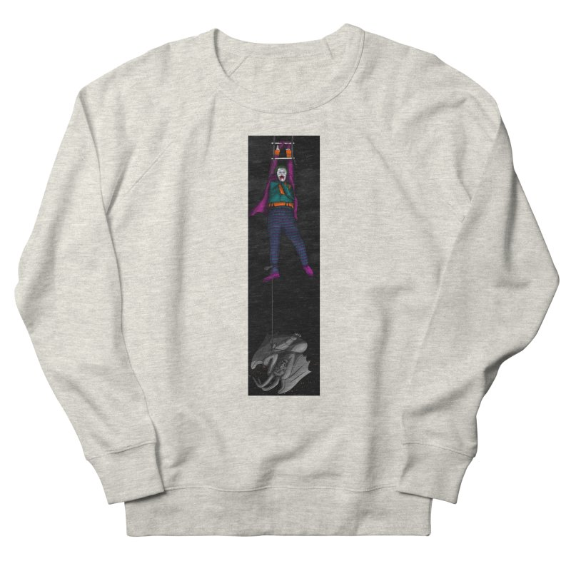 Hang in There-Joker Men's French Terry Sweatshirt by City of Pyramids's Artist Shop