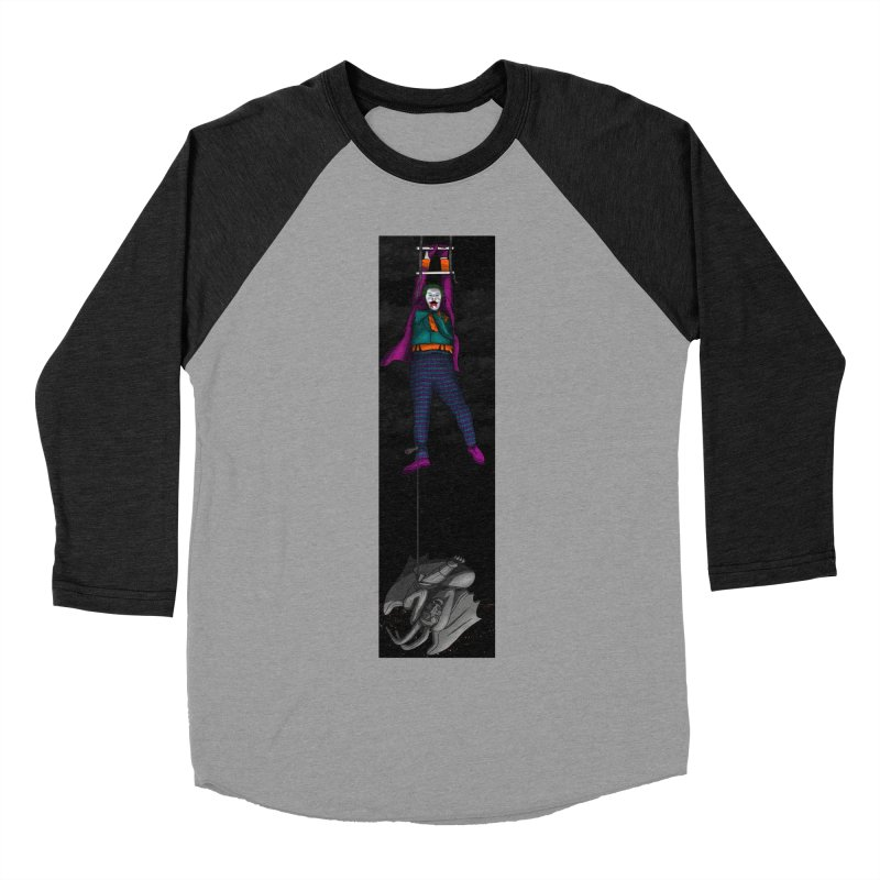 Hang in There-Joker Women's Baseball Triblend Longsleeve T-Shirt by City of Pyramids's Artist Shop