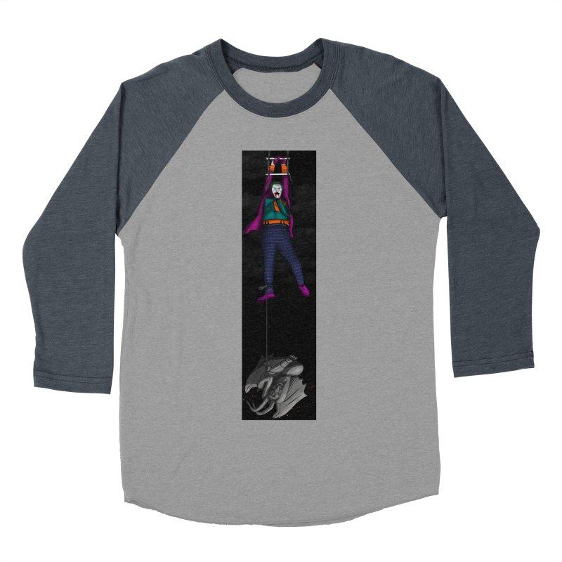Hang in There-Joker Men's Baseball Triblend Longsleeve T-Shirt by City of Pyramids's Artist Shop