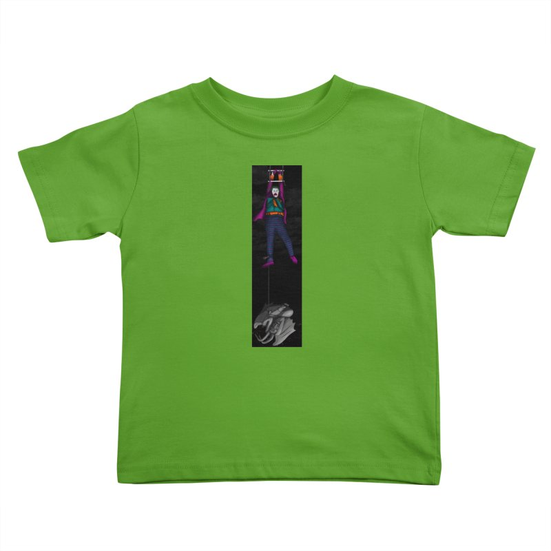 Hang in There-Joker Kids Toddler T-Shirt by City of Pyramids's Artist Shop
