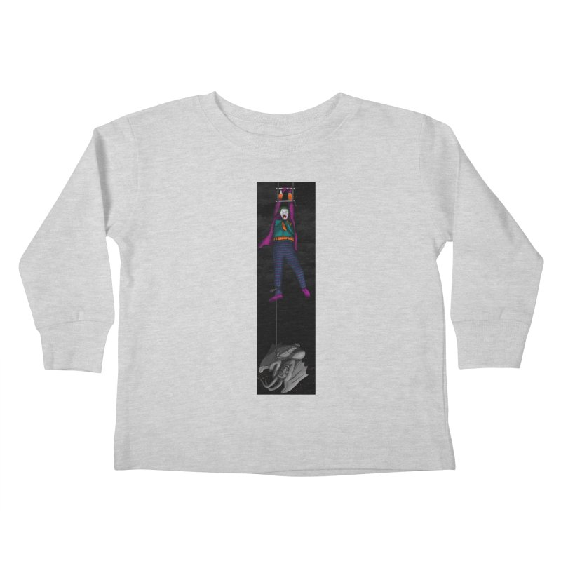 Hang in There-Joker Kids Toddler Longsleeve T-Shirt by City of Pyramids's Artist Shop