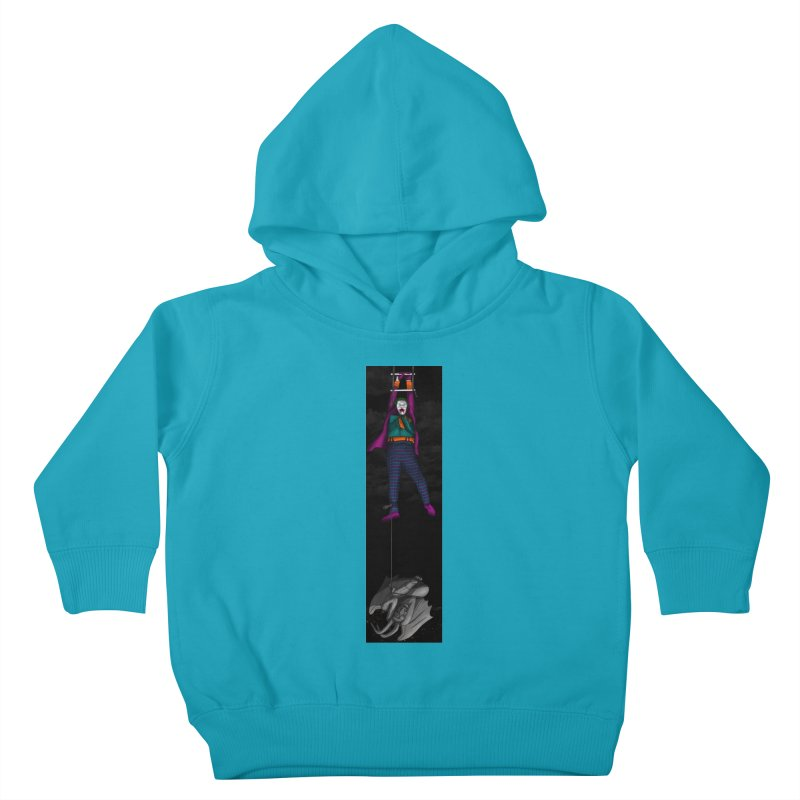 Hang in There-Joker Kids Toddler Pullover Hoody by City of Pyramids's Artist Shop