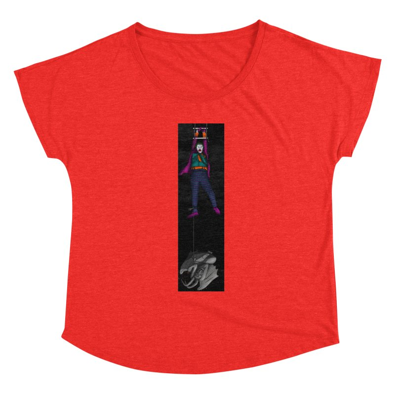 Hang in There-Joker Women's Scoop Neck by City of Pyramids's Artist Shop