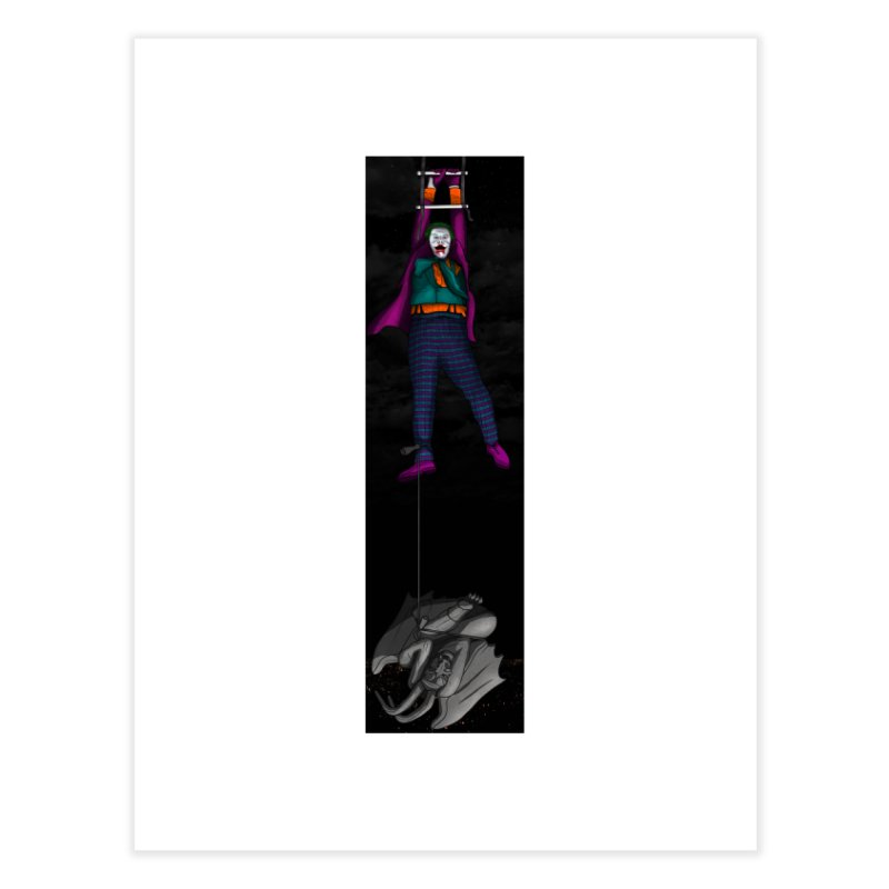 Hang in There-Joker Home Fine Art Print by City of Pyramids's Artist Shop