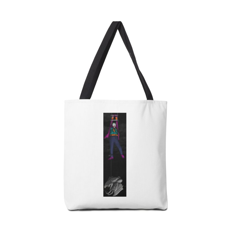 Hang in There-Joker Accessories Tote Bag Bag by City of Pyramids's Artist Shop