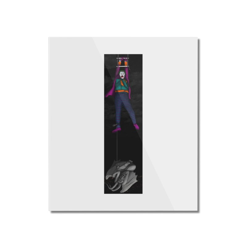 Hang in There-Joker Home Mounted Acrylic Print by City of Pyramids's Artist Shop