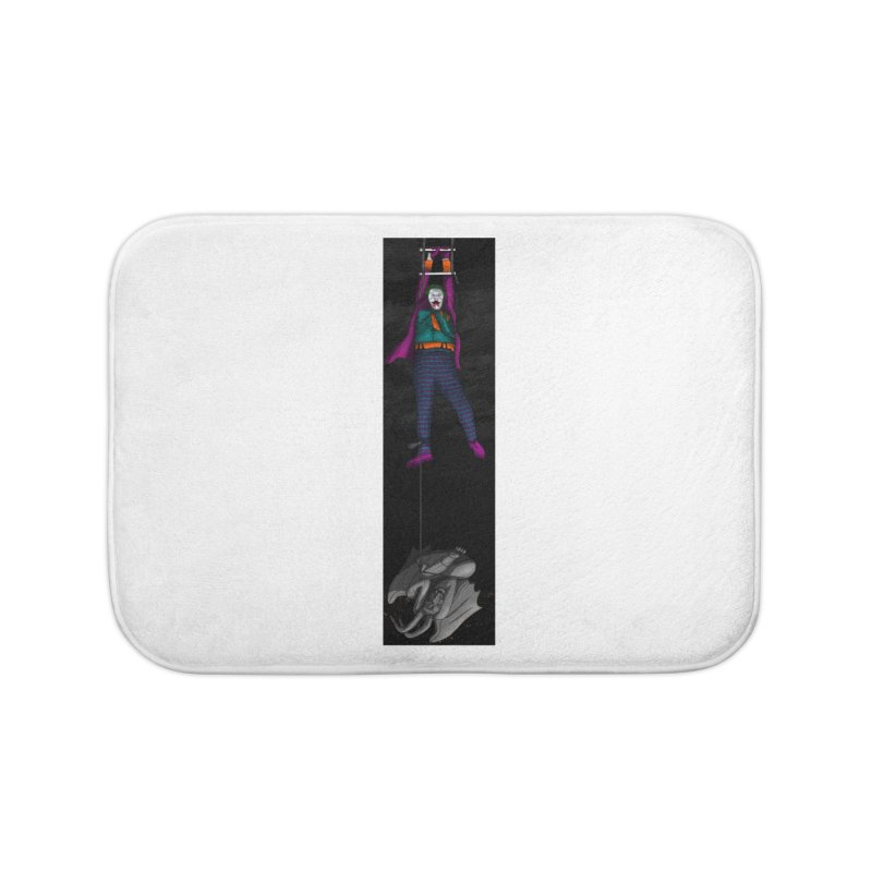 Hang in There-Joker Home Bath Mat by City of Pyramids's Artist Shop