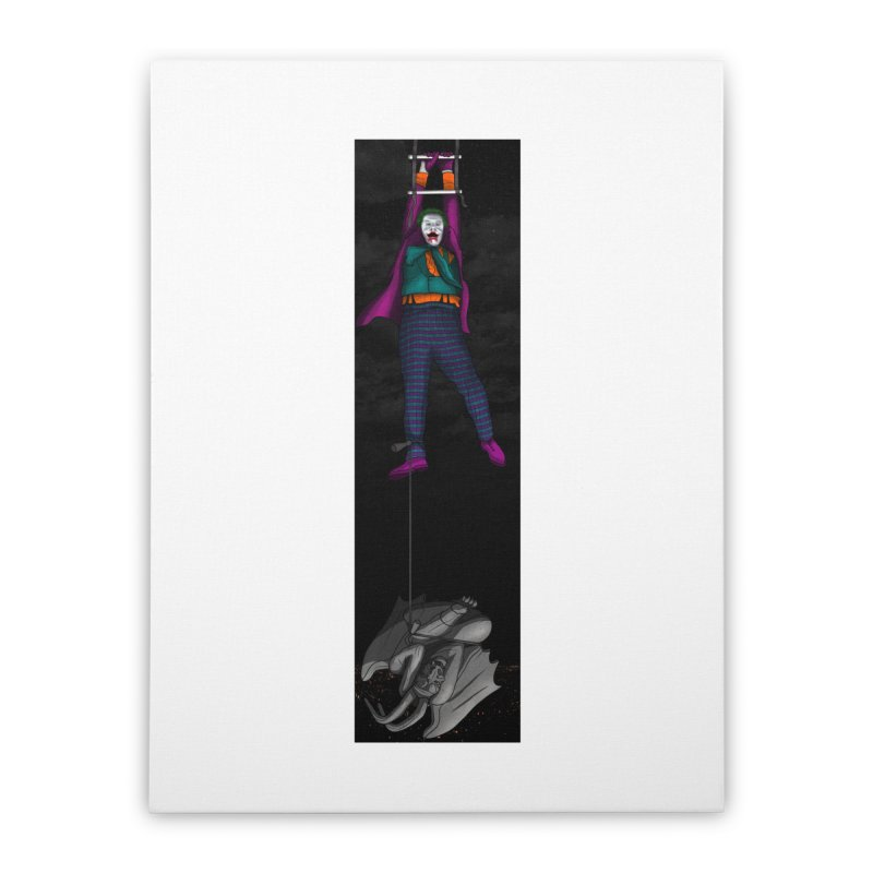Hang in There-Joker Home Stretched Canvas by City of Pyramids's Artist Shop