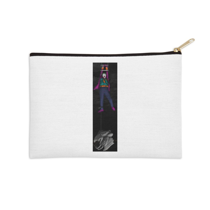 Hang in There-Joker Accessories Zip Pouch by City of Pyramids's Artist Shop