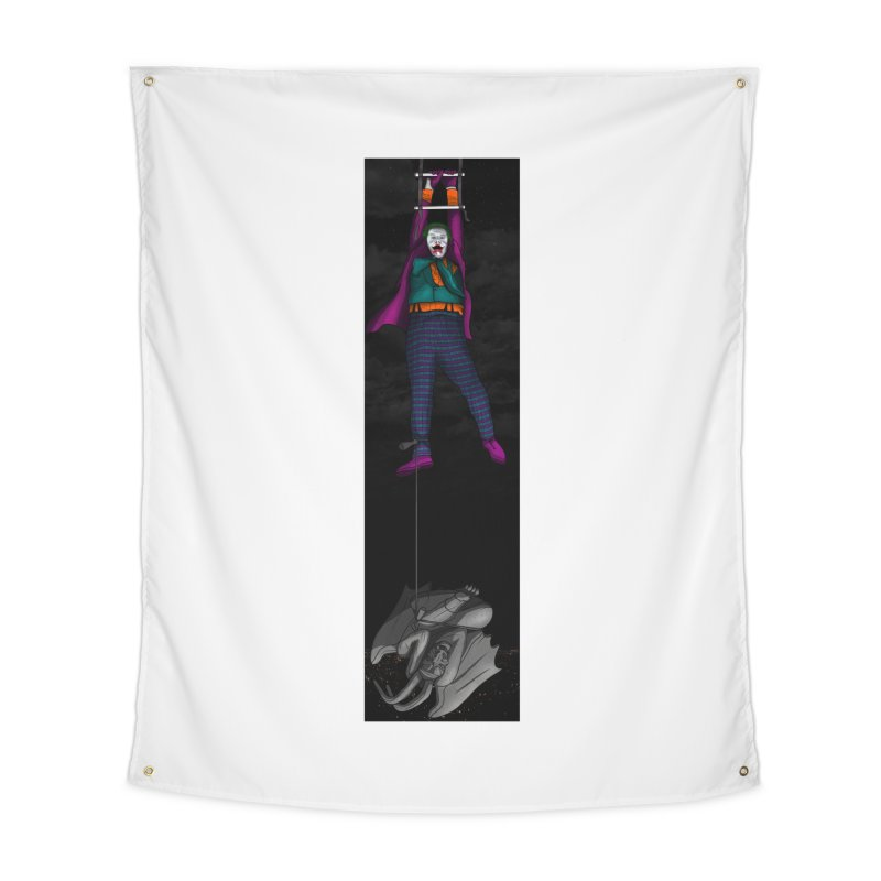 Hang in There-Joker Home Tapestry by City of Pyramids's Artist Shop
