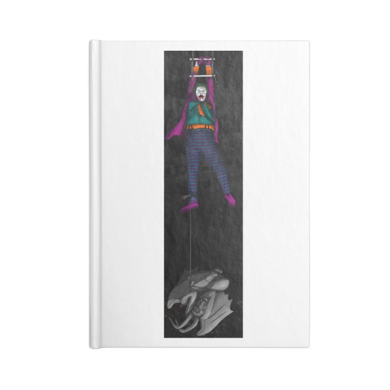 Hang in There-Joker Accessories Blank Journal Notebook by City of Pyramids's Artist Shop