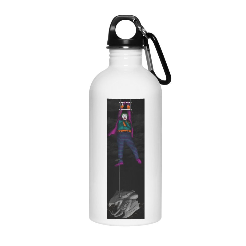 Hang in There-Joker Accessories Water Bottle by City of Pyramids's Artist Shop