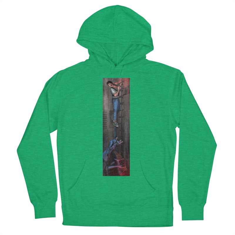 Hang in There-Ripley Women's French Terry Pullover Hoody by City of Pyramids's Artist Shop