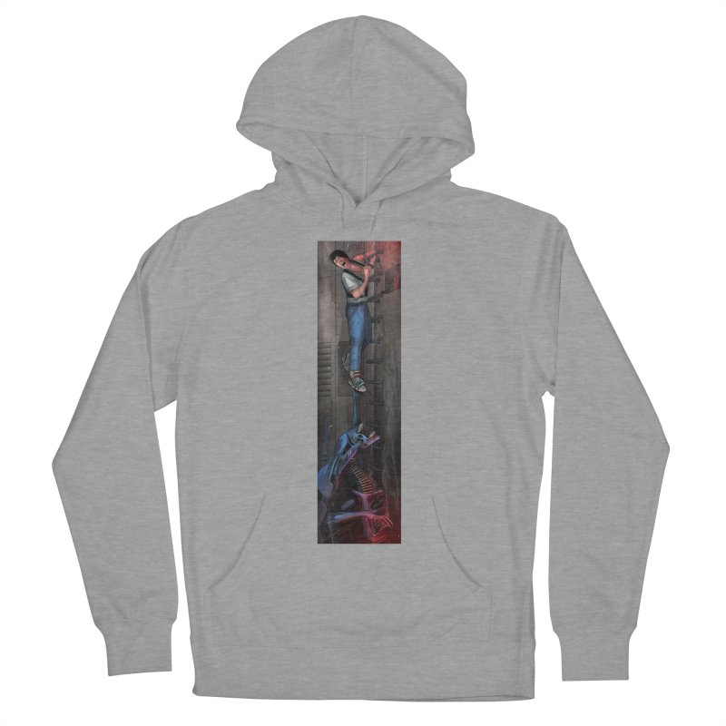 Hang in There-Ripley Men's French Terry Pullover Hoody by City of Pyramids's Artist Shop