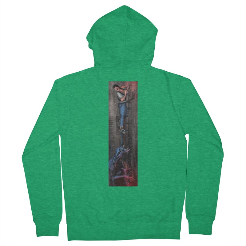 Hang in There-Ripley Men's Zip-Up Hoody by City of Pyramids's Artist Shop