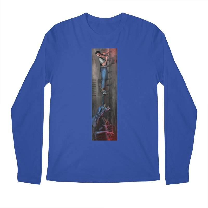 Hang in There-Ripley Men's Regular Longsleeve T-Shirt by City of Pyramids's Artist Shop