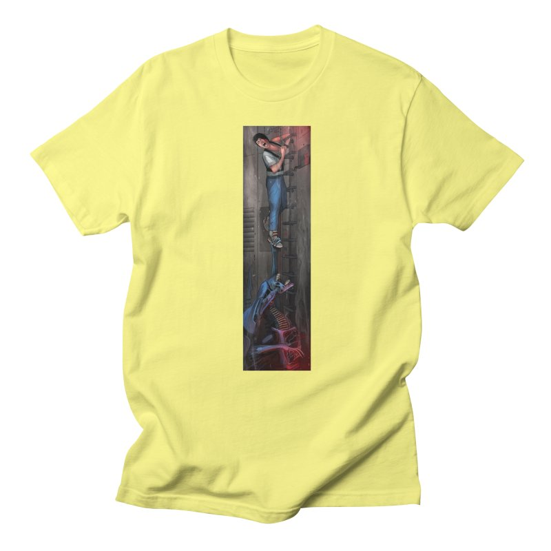 Hang in There-Ripley Men's Regular T-Shirt by City of Pyramids's Artist Shop