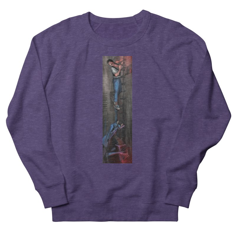 Hang in There-Ripley Men's French Terry Sweatshirt by City of Pyramids's Artist Shop