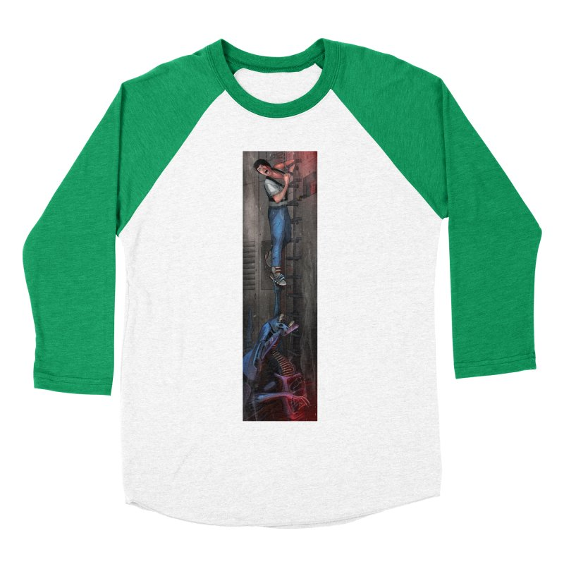 Hang in There-Ripley Women's Baseball Triblend Longsleeve T-Shirt by City of Pyramids's Artist Shop