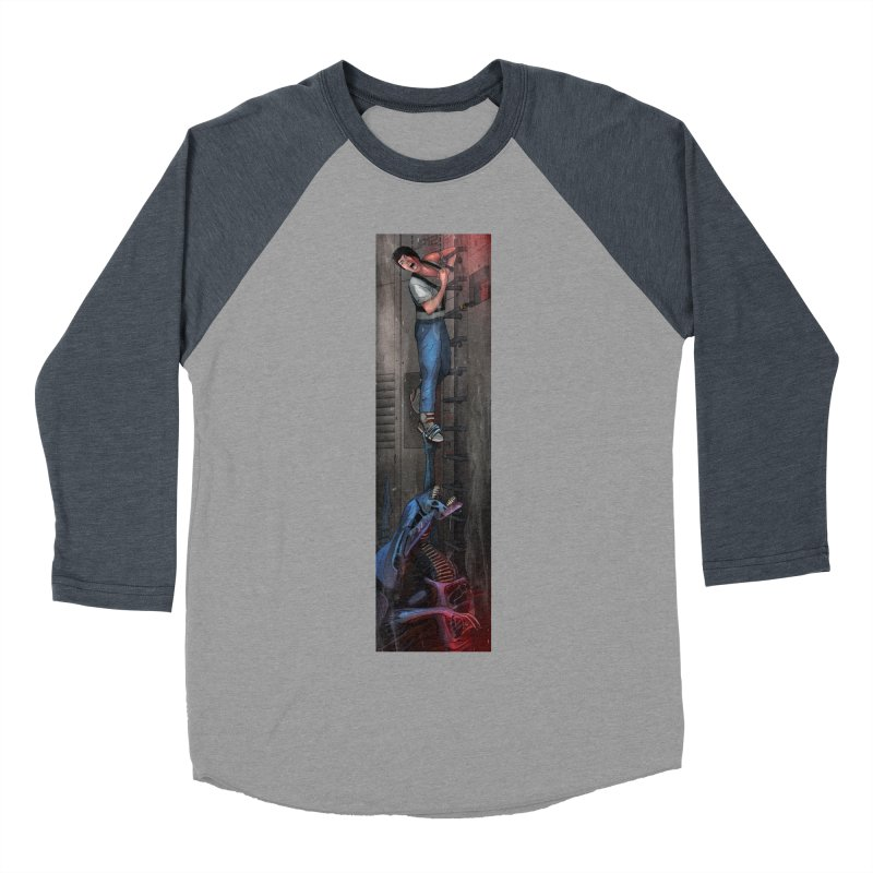Hang in There-Ripley Men's Baseball Triblend Longsleeve T-Shirt by City of Pyramids's Artist Shop