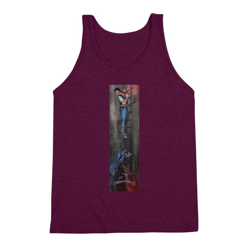 Hang in There-Ripley Men's Triblend Tank by City of Pyramids's Artist Shop