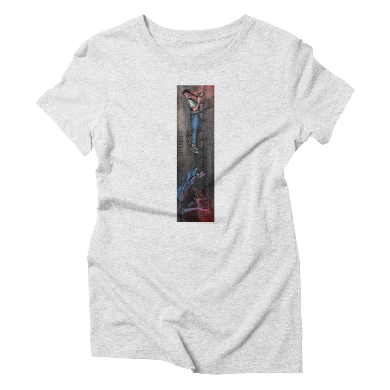 Hang in There-Ripley Women's T-Shirt by City of Pyramids's Artist Shop