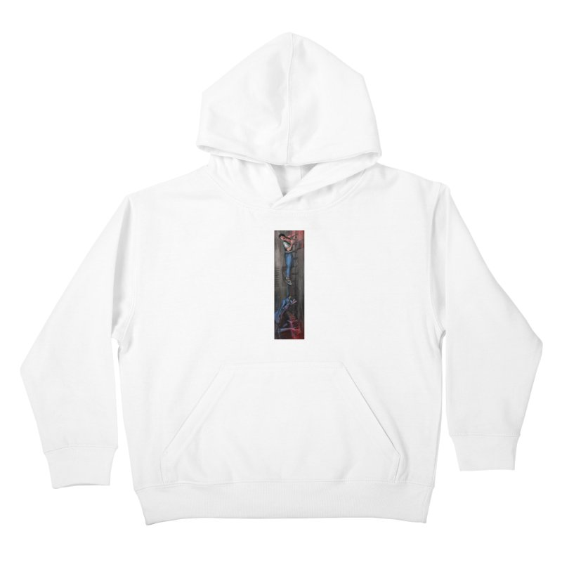 Hang in There-Ripley Kids Pullover Hoody by City of Pyramids's Artist Shop