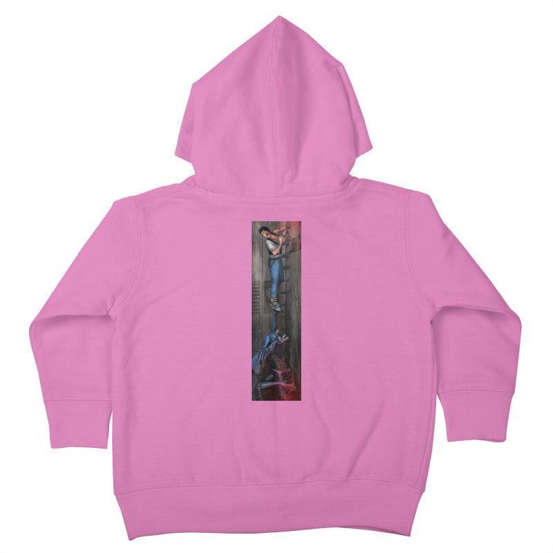 Hang in There-Ripley Kids Toddler Zip-Up Hoody by City of Pyramids's Artist Shop