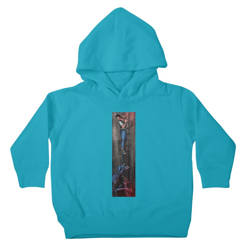 Hang in There-Ripley Kids Toddler Pullover Hoody by City of Pyramids's Artist Shop
