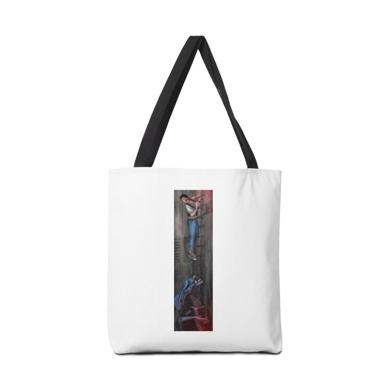 Hang in There-Ripley Accessories Bag by City of Pyramids's Artist Shop