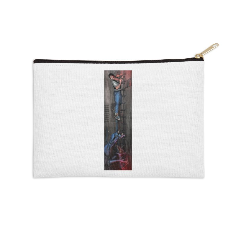 Hang in There-Ripley Accessories Zip Pouch by City of Pyramids's Artist Shop