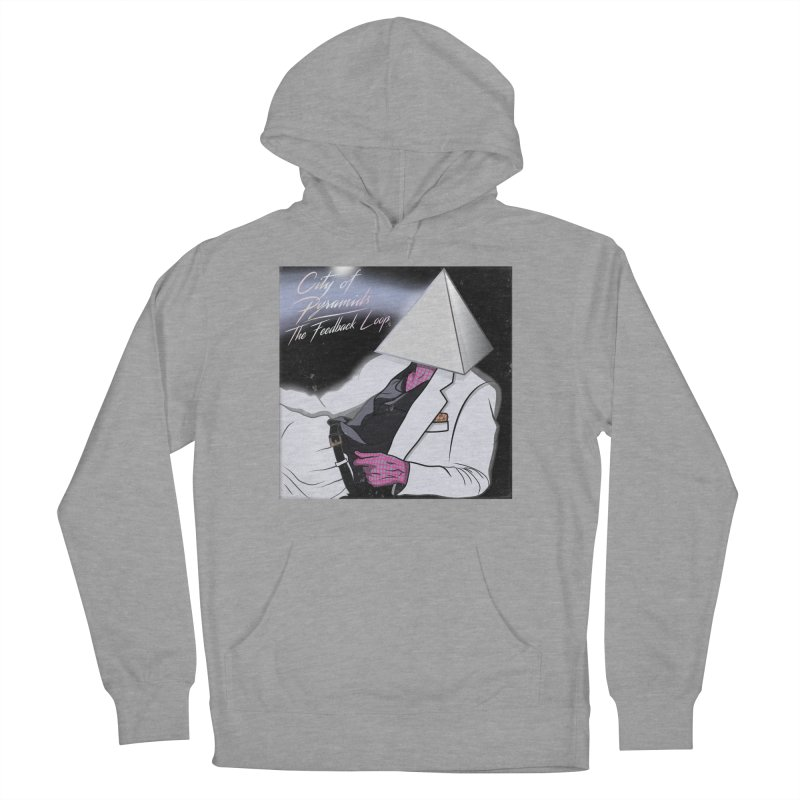 City of Pyramids - The Feedback Loop Men's French Terry Pullover Hoody by City of Pyramids's Artist Shop