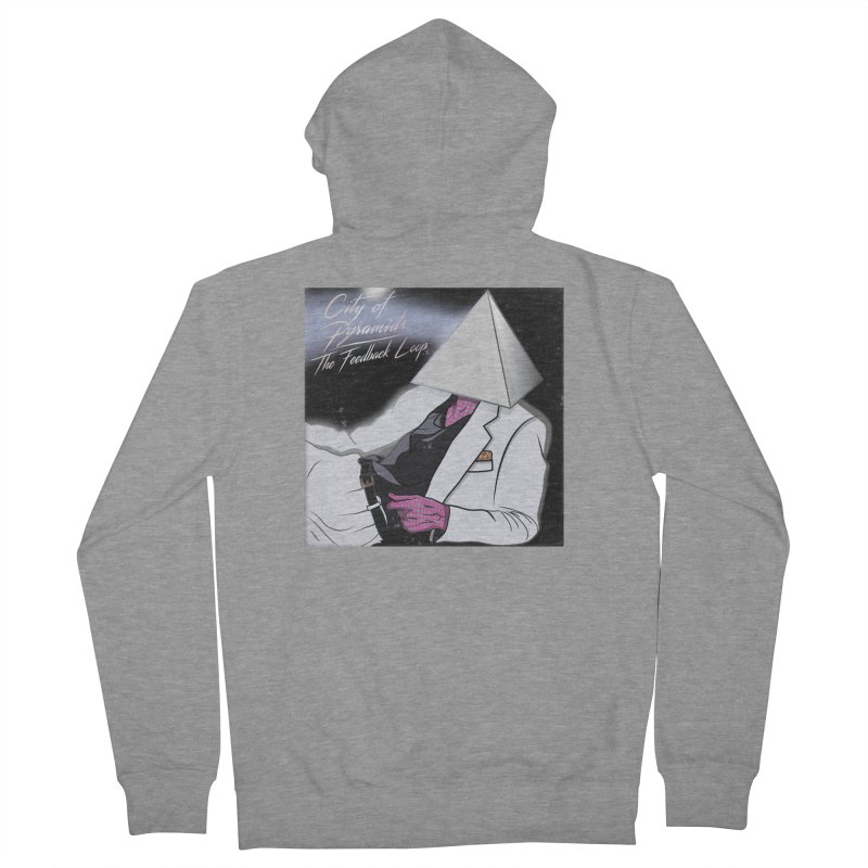 City of Pyramids - The Feedback Loop Women's French Terry Zip-Up Hoody by City of Pyramids's Artist Shop