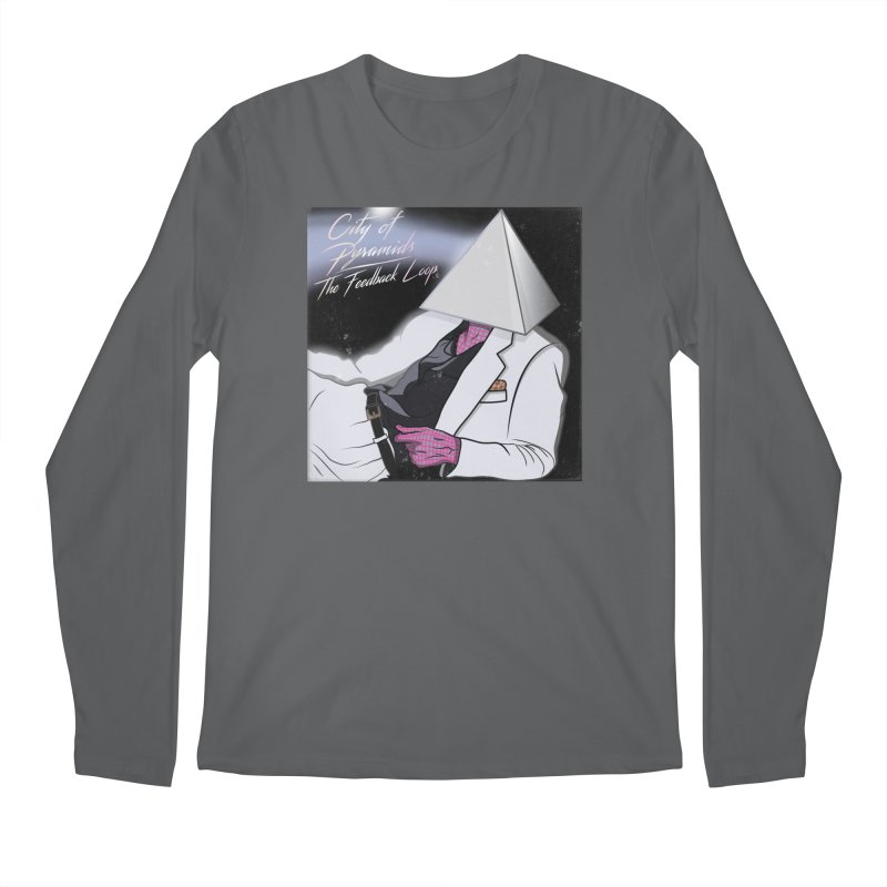 City of Pyramids - The Feedback Loop Men's Longsleeve T-Shirt by City of Pyramids's Artist Shop