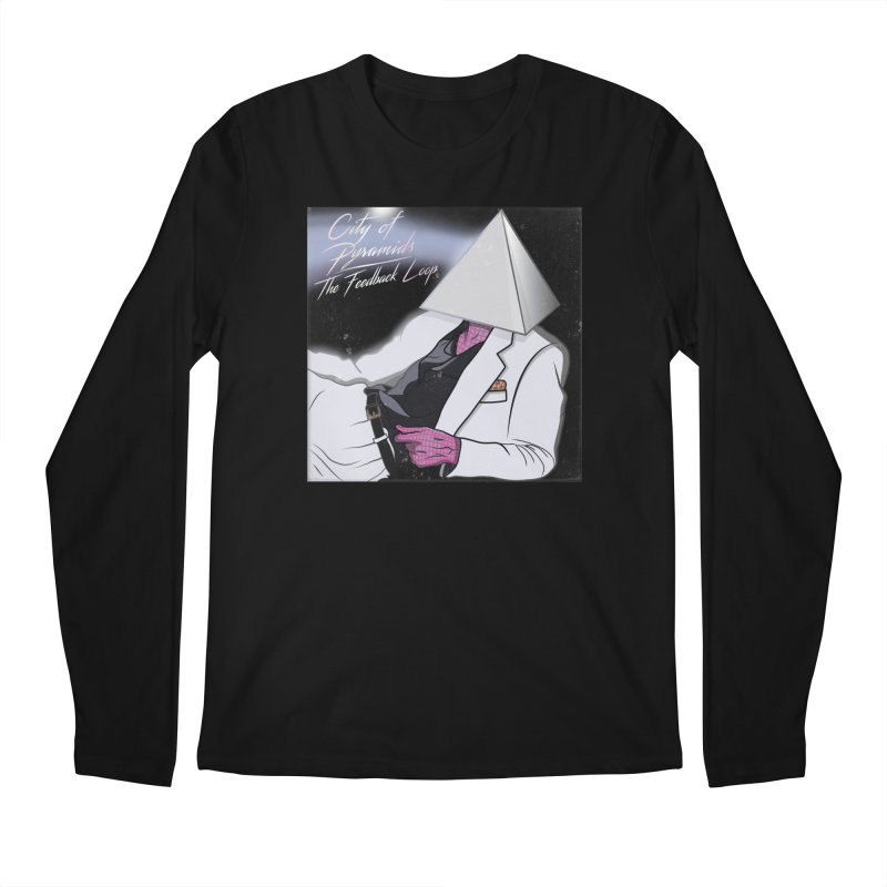 City of Pyramids - The Feedback Loop Men's Regular Longsleeve T-Shirt by City of Pyramids's Artist Shop
