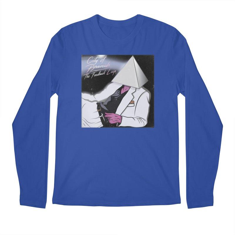 City of Pyramids - The Feedback Loop Men's Regular Longsleeve T-Shirt by City of Pyramids's Artist Shop