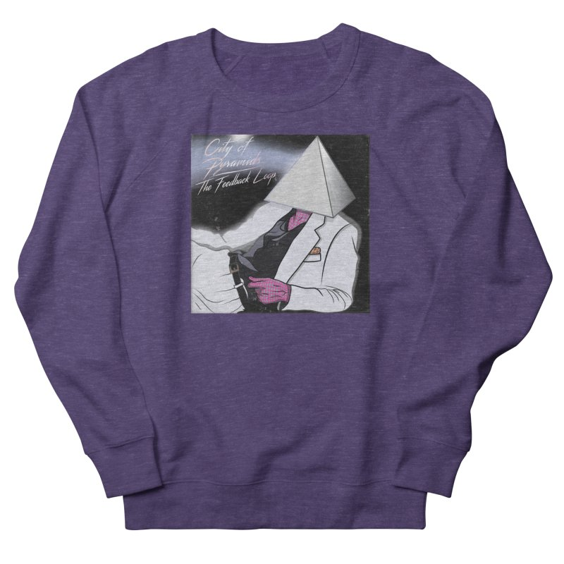 City of Pyramids - The Feedback Loop Men's French Terry Sweatshirt by City of Pyramids's Artist Shop